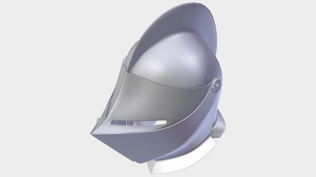 3D Close Helmet Design