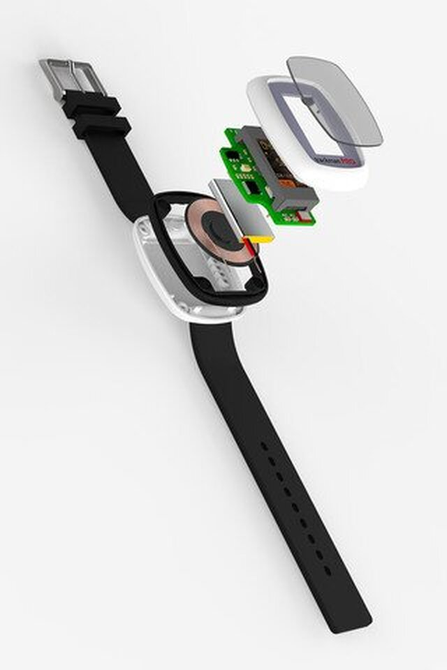 Wearable IOT device with built in WiFi module, display and audio support