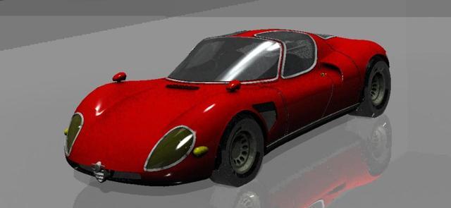 Alfa 33 Stradale file STP, STL alla optional