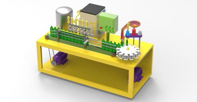 Liquid Filling Machine Design