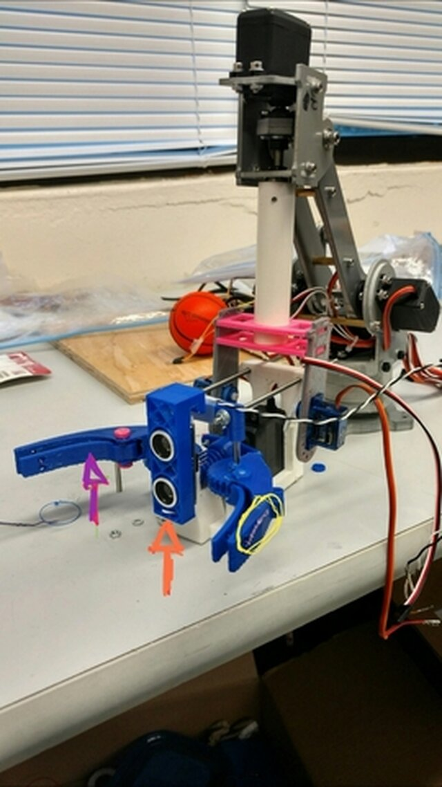 Robot Arduino 3D printed