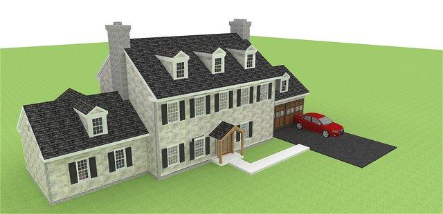 model home for portfolio