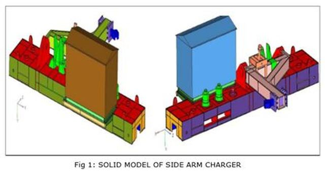 NONLINEAR STRESS ANALYSIS OF SIDE ARM CHARGER