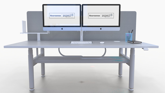 Floorsense - Desk reservation and occupancy sensing for ABW