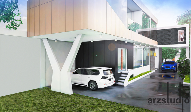 architechtural design planing for commercial building