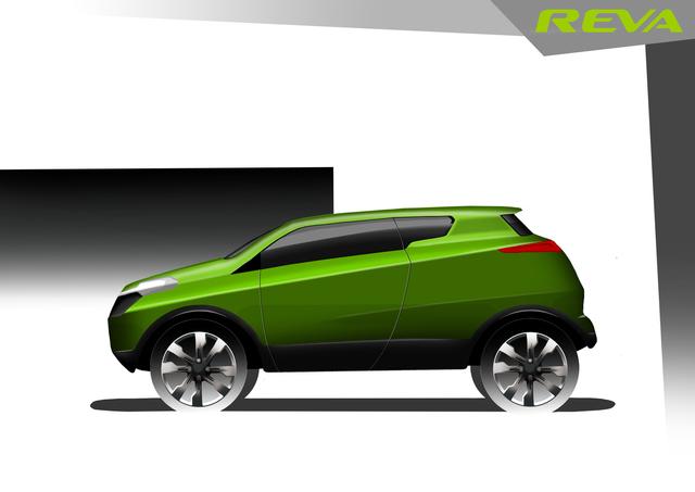 Reva concept car