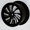 Concept Diamond Cut Alloy Wheel