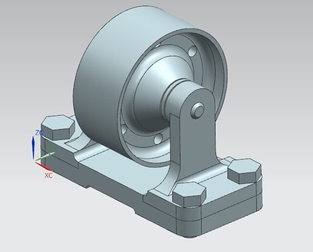 Assembly and part designs (UG NX)