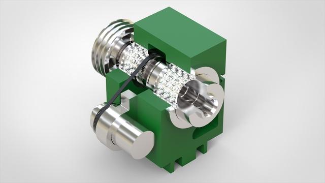Schaublin 128 CNC (Head stock + drive motor)