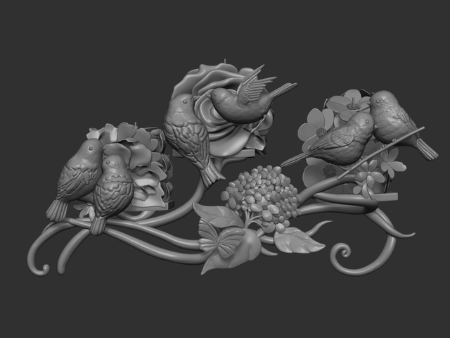 3D Modeling  and  digital sculpting