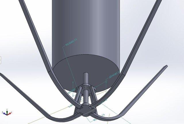 heat shield for rocket probe