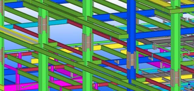 Tekla Steel Detailing