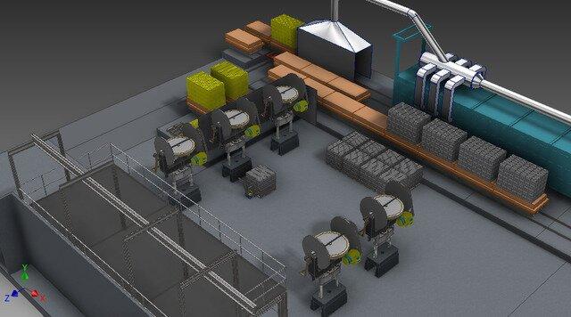 Firebricks production line