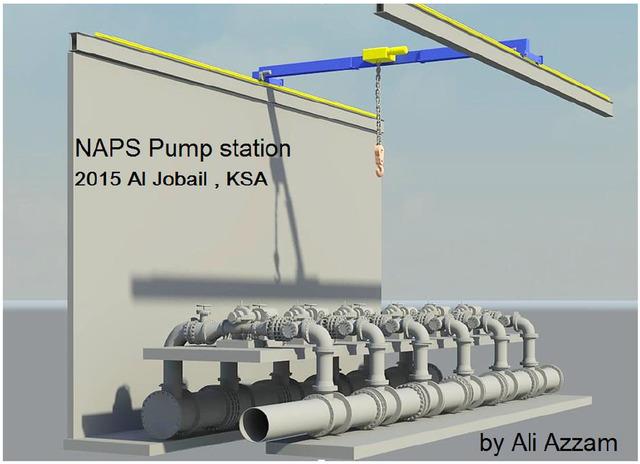 al jobail pump station