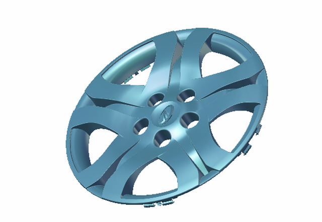 Automobile part like wheel cover