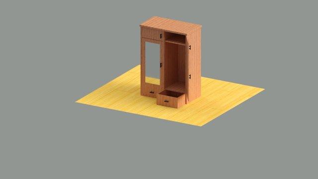 3d-wardrobe-model