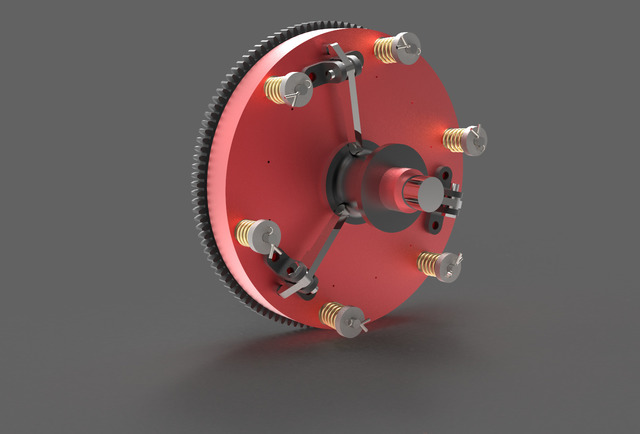 Single Plate Clutch Assembly
