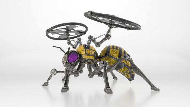 Robot Wasp