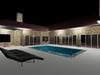 Luxury Villa with Stone Cladding, Swimming Pool and Big Garage.